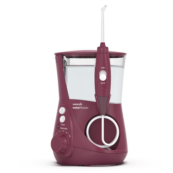 Waterpik WP-669 Aquarius Water Flosser - Burgundy