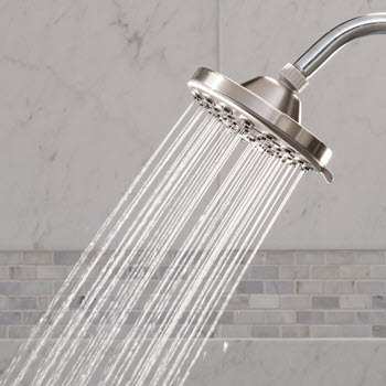 Rain Shower Head Spray Setting