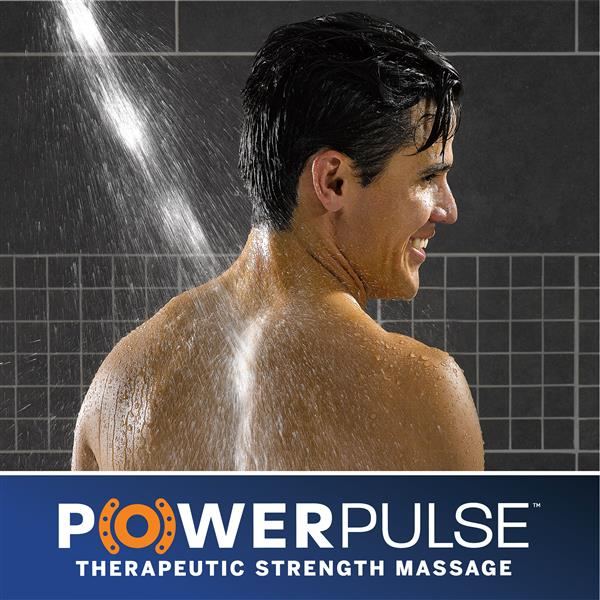 PowerPulse Therapeutic Strength Shower Massage