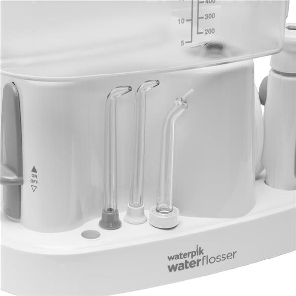 On Board Tip Storage - WP-72 White Ultra Water Flosser